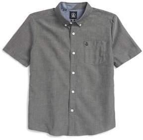 Volcom Everett Oxford Shirt (Toddler & Little Boys)