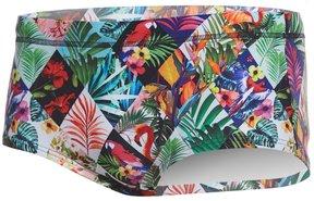 Funky Trunks Men's Jungle Jam Plain Front Square Leg Swimsuit 8157206