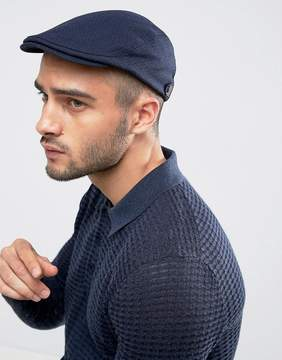 Ted Baker Thompson Flat Cap in Navy