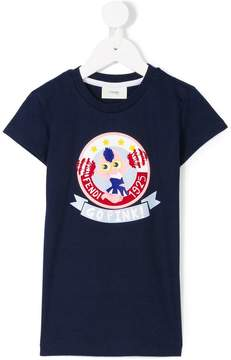Fendi cheerleader print T-shirt