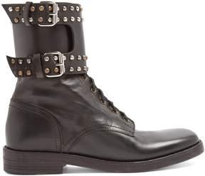 Etoile Isabel Marant Teylon stud-embellished leather ankle boots