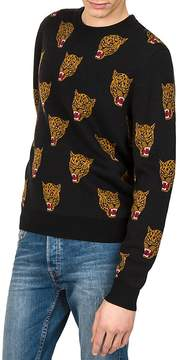 The Kooples Panther Jacquard Sweater