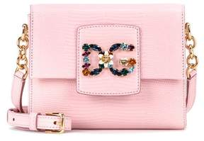 Dolce & Gabbana Millennials Mini leather shoulder bag - PINK - STYLE
