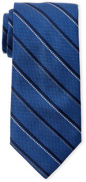 Altea Diagonal Stripe Silk Tie