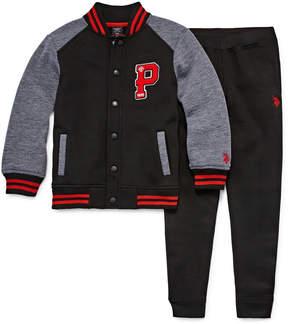 U.S. Polo Assn. 2-pc. Pant Set Boys