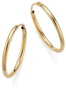 Bloomingdale's 14K Yellow Gold Endless Hoop Earrings - 100% Exclusive