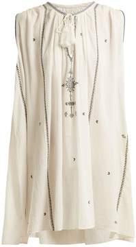 Etoile Isabel Marant Malya embroidered cotton dress