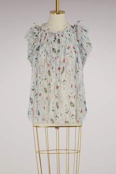 Etoile Isabel Marant Silk Erell blouse