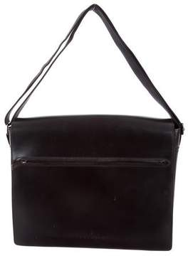 Trussardi Leather Messenger Bag