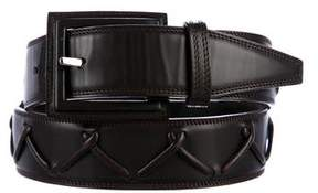Loewe Whipstitch Leather Belt