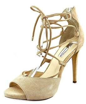 INC International Concepts Womens Sabba Peep Toe Ankle Wrap Classic Pumps.