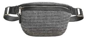 MANGO Houndstooth bum bag