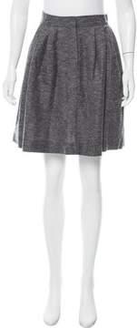 Cacharel Knee-Length Wool Skirt