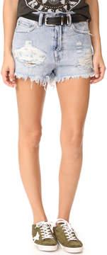 PRPS Amx High Waist Boyfirend Shorts