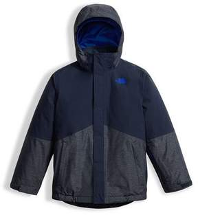 The North Face Boys' Boundary Triclimate® Jacket, Blue, Size XXS-XL