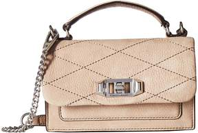 Rebecca Minkoff Je Taime Phone Crossbody Cross Body Handbags - DARK CAMMEO - STYLE
