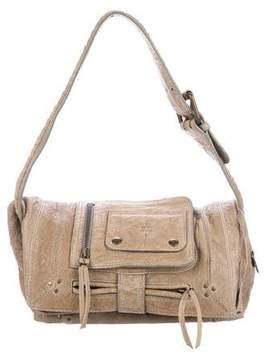 Jerome Dreyfuss Grained Leather Shoulder Bag