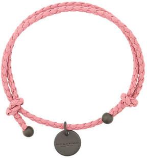 Bottega Veneta woven charm bracelet