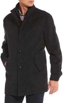 Daniel Cremieux Lowery Wool Full-Zip Coat