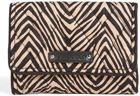 Vera Bradley Zebra Petite Trifold Wallet - ZEBRA - STYLE