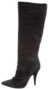Pedro Garcia Ruched Knee-High Boots