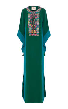 Figue Embroidered noona gown