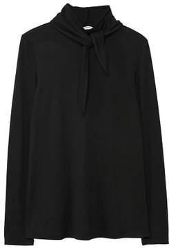 MANGO Bow neck t-shirt