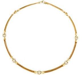 Charriol 18K Diamond Cable Collar Necklace