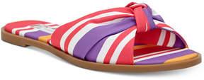INC International Concepts I.n.c. Guyen Knot Slide Sandals, Created For Macy's Women's Shoes