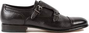 Moreschi Leather Monk Shoes
