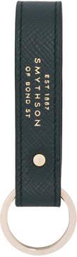 Smythson embossed logo keyring