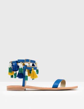 Boden Tassel Sandal