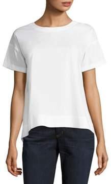 Eileen Fisher Solid Short Sleeve T-Shirt