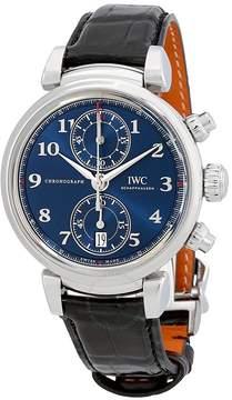 IWC Da Vinci Blue Dial Automatic Men's Chronograph Watch