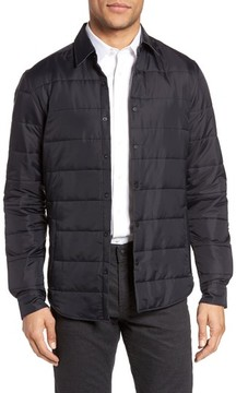 BOSS Men's Landolfo Quilted Shirt Jacket