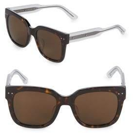 Bottega Veneta 54MM Wayfarer Sunglasses