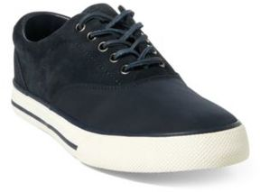 Ralph Lauren Vaughn Saddle Sneaker Dark Navy 12