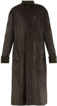Haider Ackermann Single-breasted velvet coat
