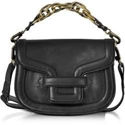Pierre Hardy Women's Black Leather Shoulder Bag.