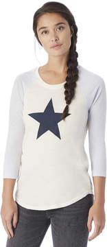 Alternative Apparel Baseball Eco-Jersey Graphics T-Shirt