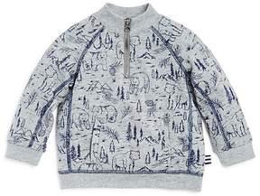 Splendid Boys' Woodland-Bear-Print Zip Sweatshirt - Baby
