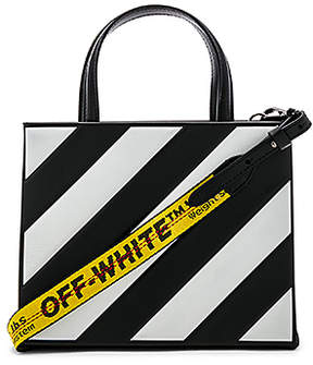 Off-White Diagonal Box Bag