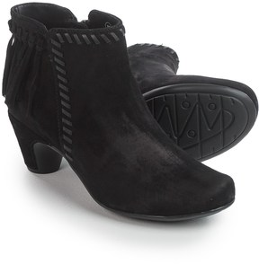 Earthies Zurich Ankle Boots - Suede (For Women)