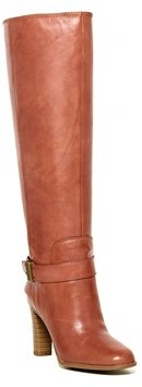 Enzo Angiolini Womens Sumilow Leather Almond Toe Knee High Fashion Boots Wide....