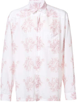 Givenchy flowers print shirt