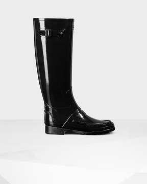 Hunter Women's Original Refined Penny Loafer Tall Boots