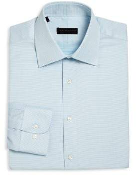 Ike Behar Regular-Fit Dotted Dress Shirt