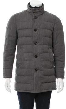 Moncler Vallier Layered Coat