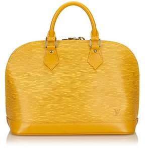 Louis Vuitton Pre-owned: Epi Alma Pm. - YELLOW - STYLE