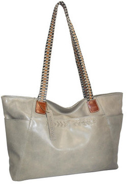 Women's Nino Bossi Paloma Leather Tote Bag
